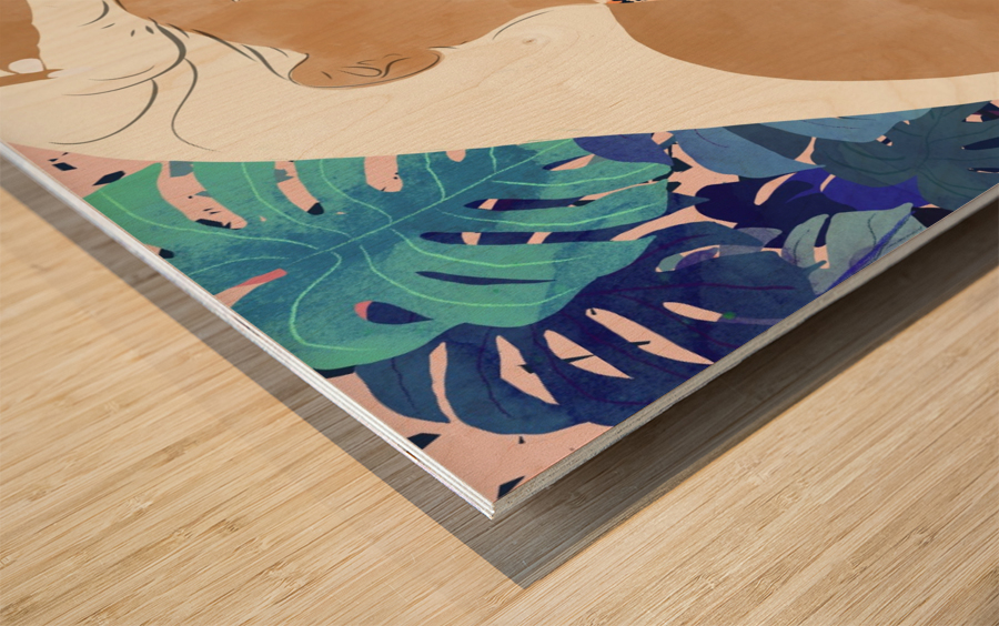 Jaguar Soul Wood print