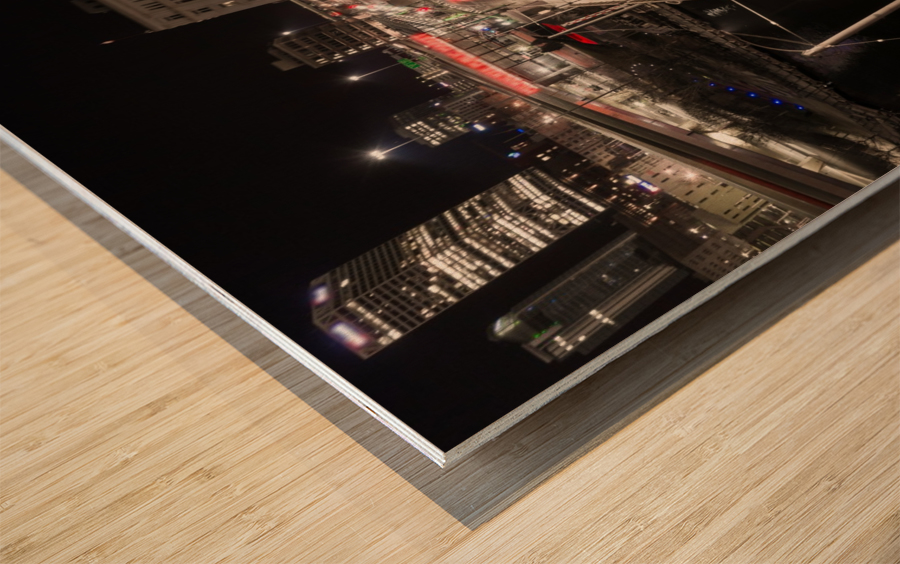 Milwaukee Bridge of The Past Wood print