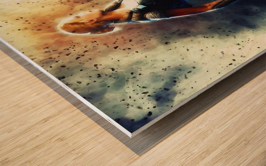 Anya Stroud Wood print