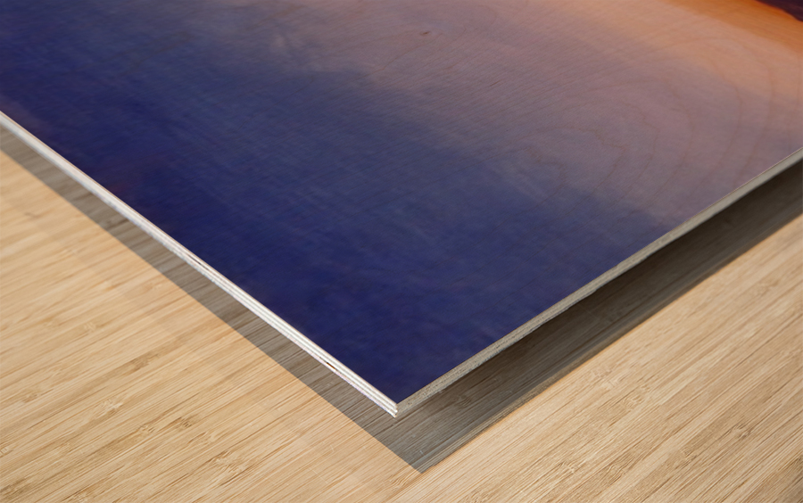 Ridgecrest Wood print