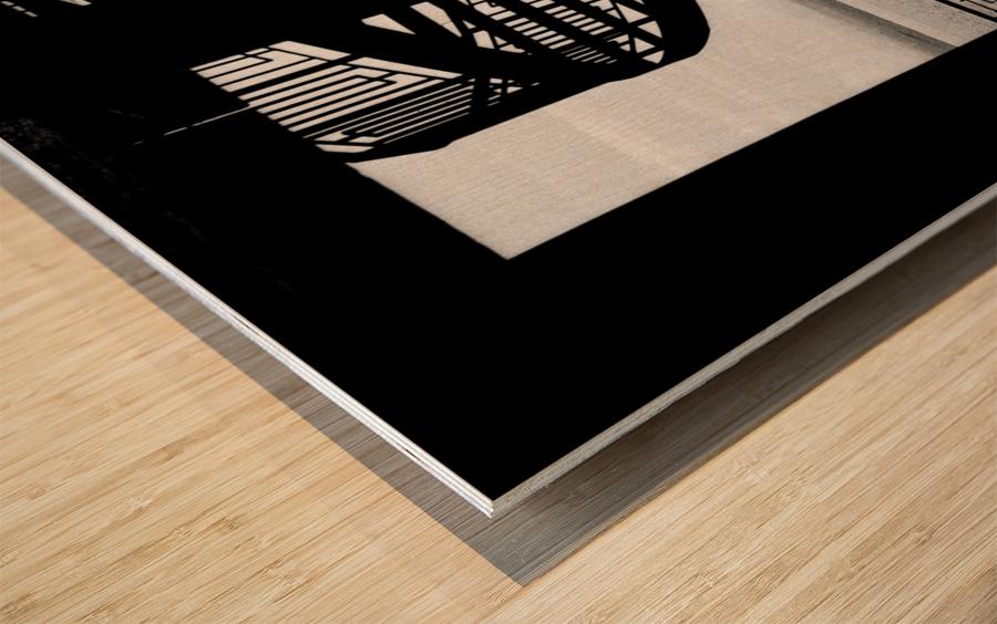 $ Wood print