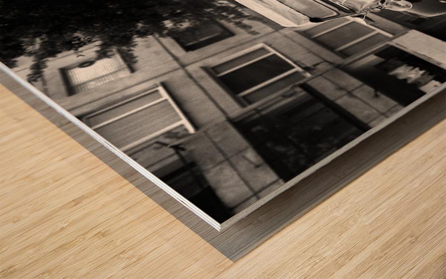 CITROEN Wood print