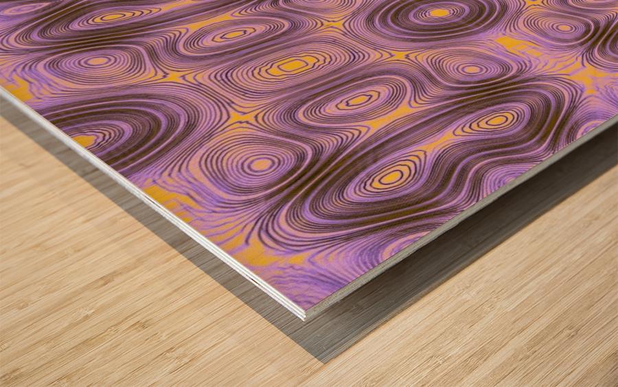 TACHYONI  Wood print
