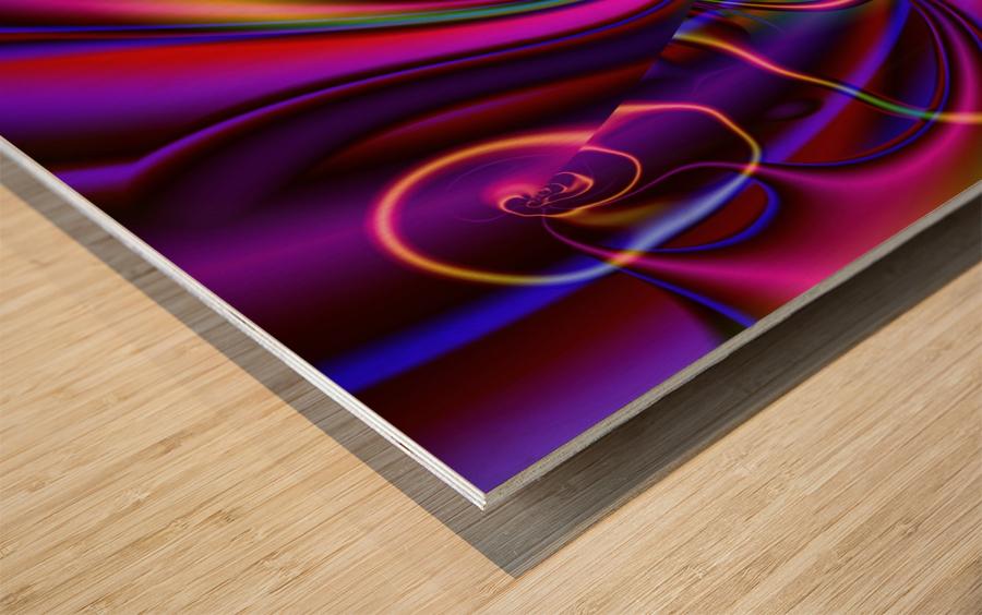 Hasta_El_Fuego_1 Wood print
