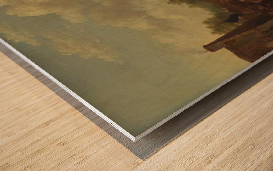Pitlessie Fair Wood print