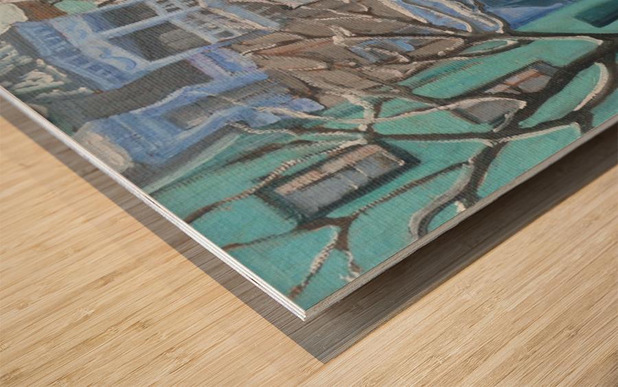 Berri Montreal Wood print