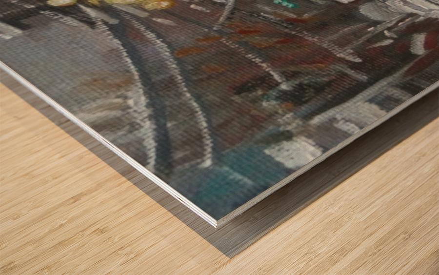 Av du la Musee Wood print