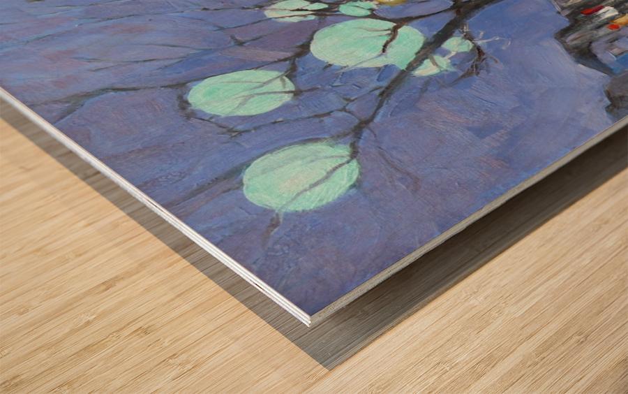 St Denis UQAM Wood print