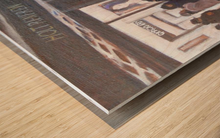 The 24 Wood print