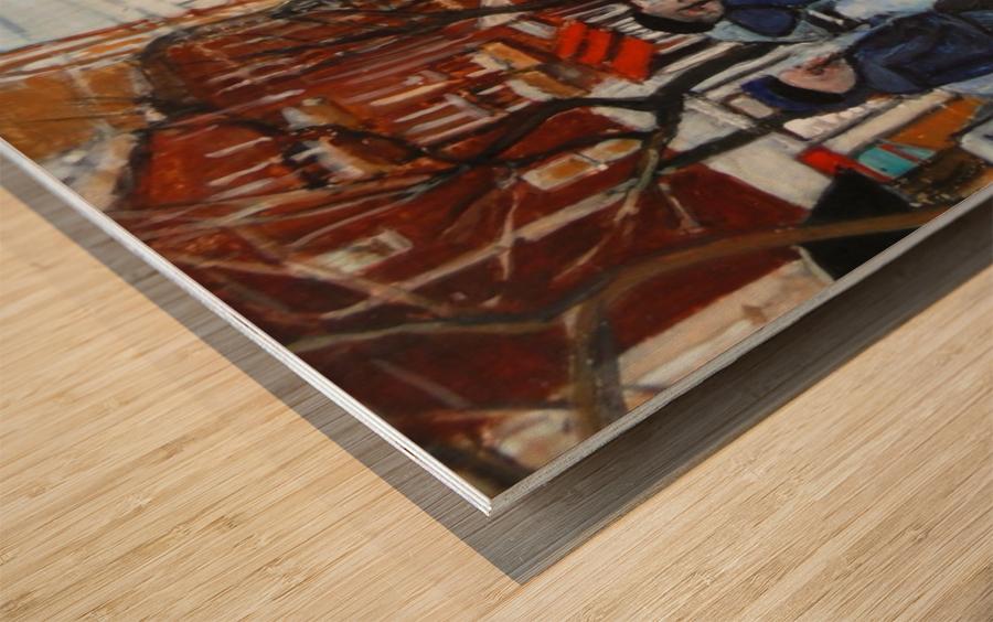 Safe Passage Wood print