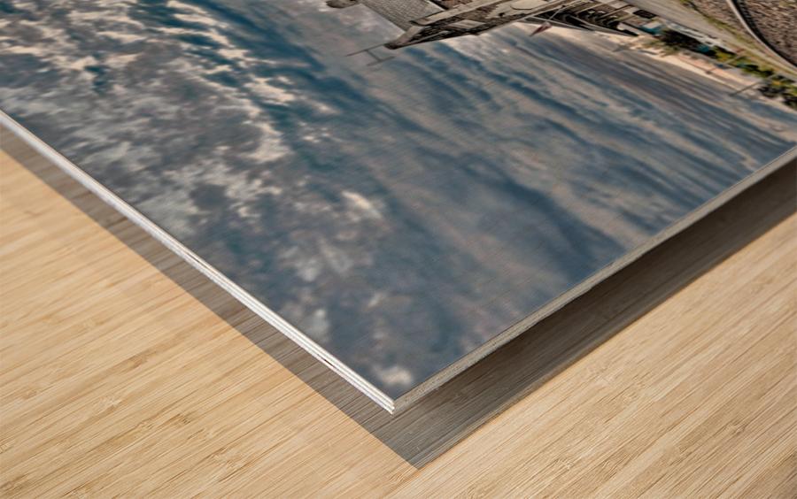 Gare Wood print