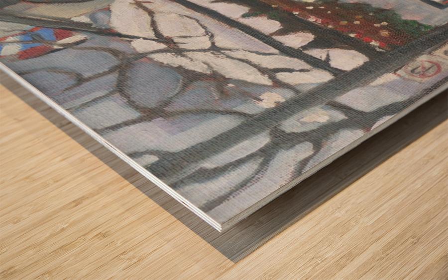 The Ritz Montreal Wood print
