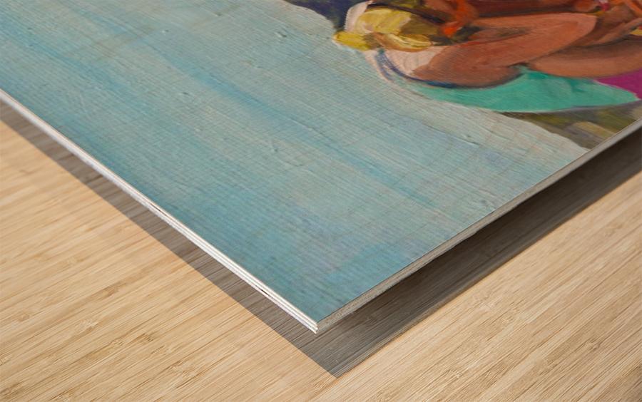 Look Wood print