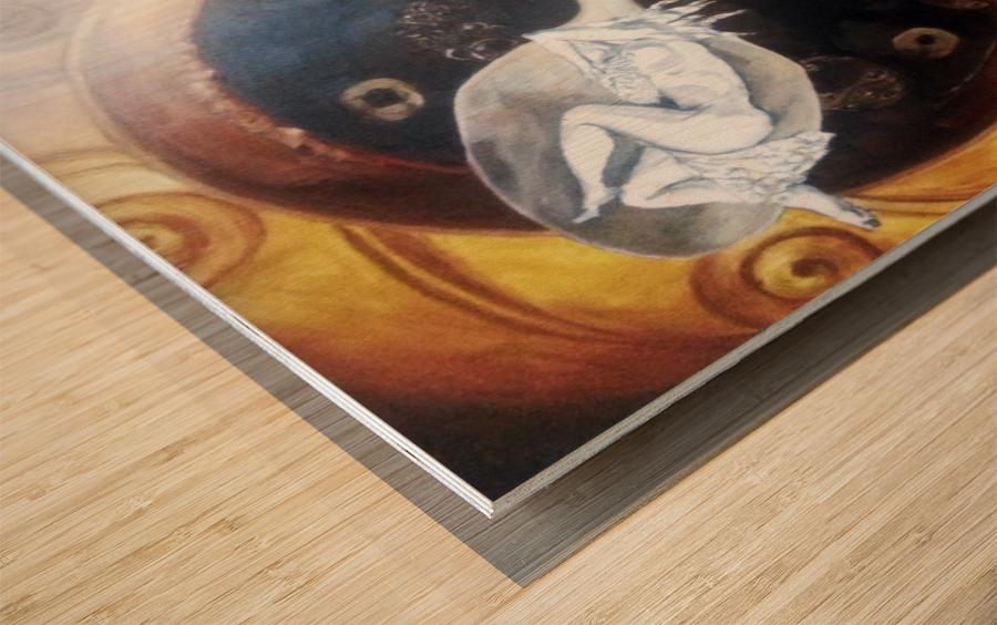 Premonition Wood print