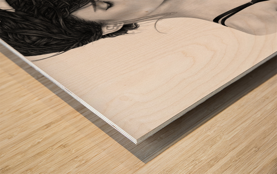 Contemplation Wood print