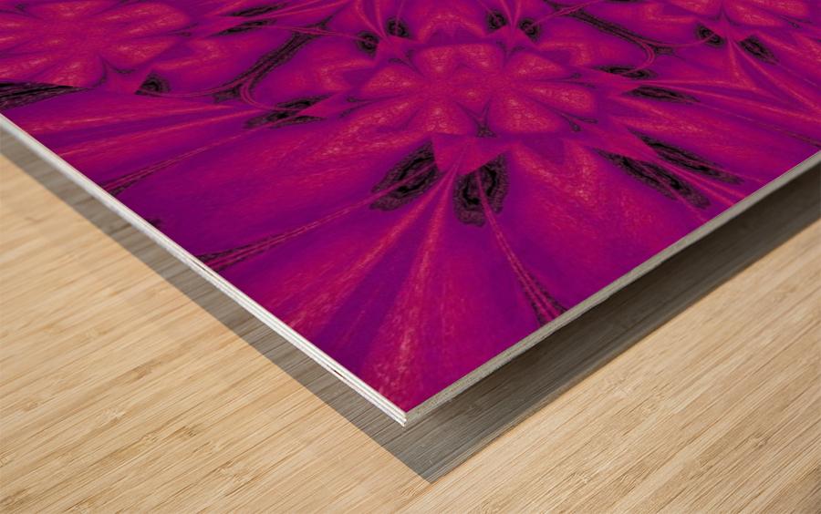 Purple Desert Song 32 Wood print