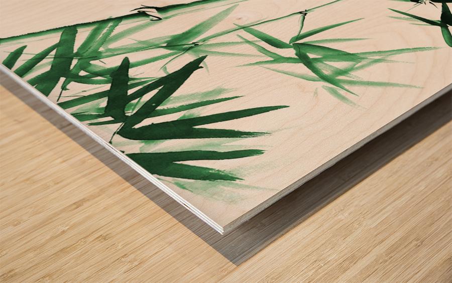 Bamboo - Chinese Style Wood print