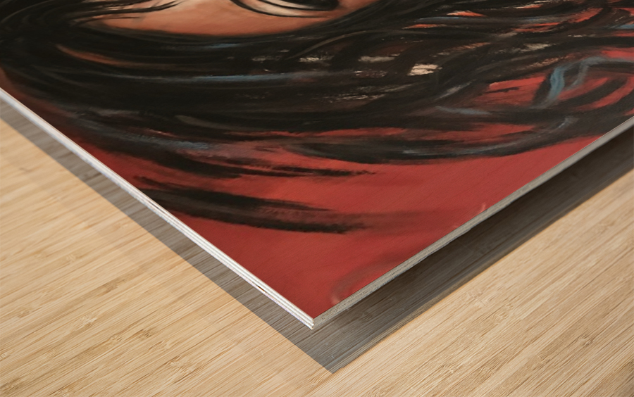 Mamzelle Wood print