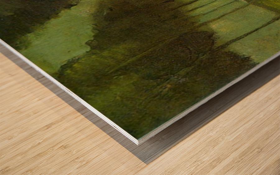 Country Lane by Van Gogh Wood print
