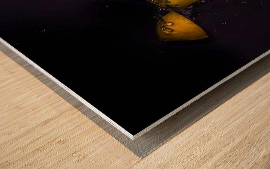 Fraicheur.  Wood print