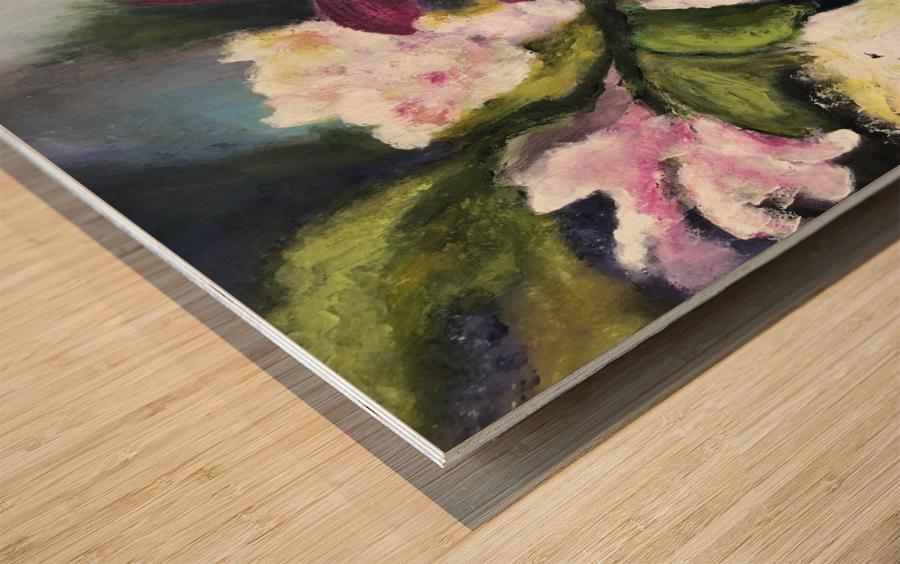 L Eclosion Wood print
