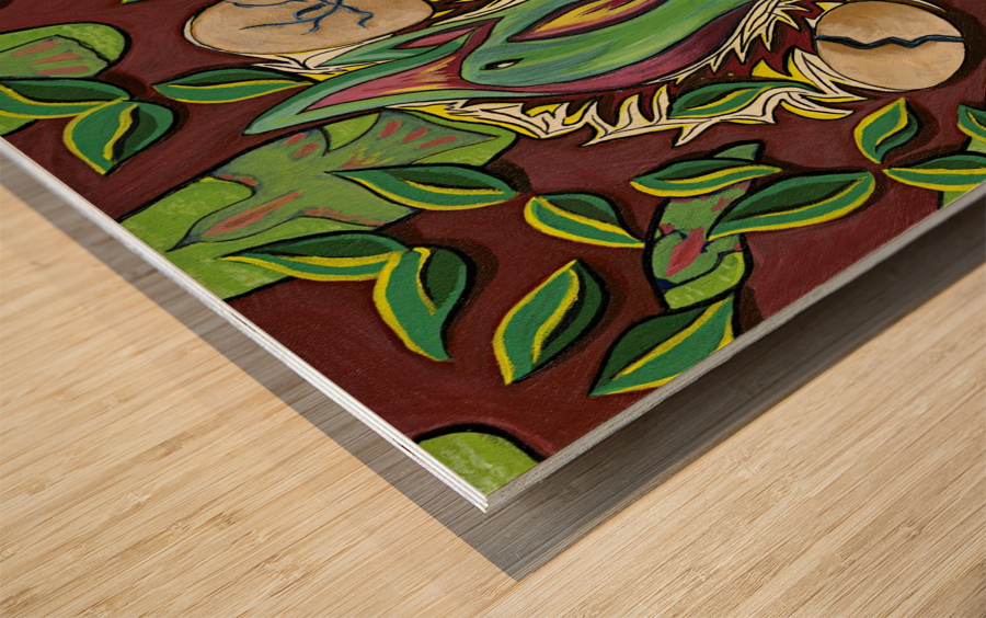 Guardian Wood print