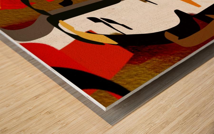 0216 Wood print