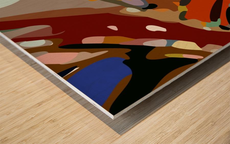 autumn moods Wood print