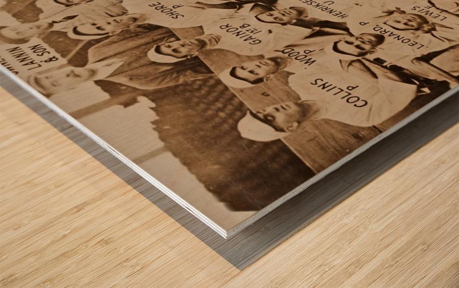 1915 Boston Red Sox Team Photo Wood print
