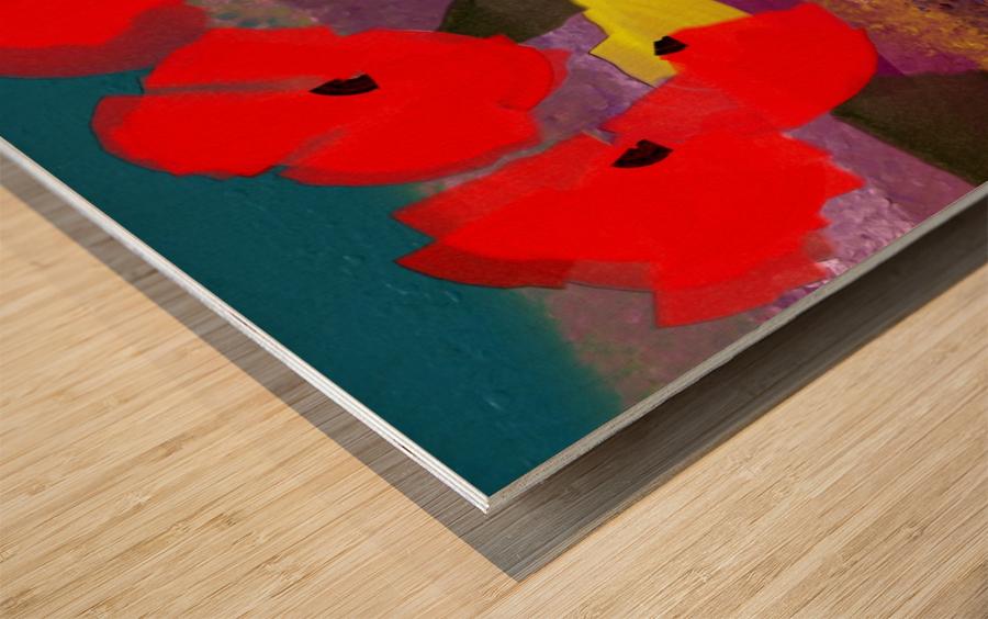 0263 Wood print