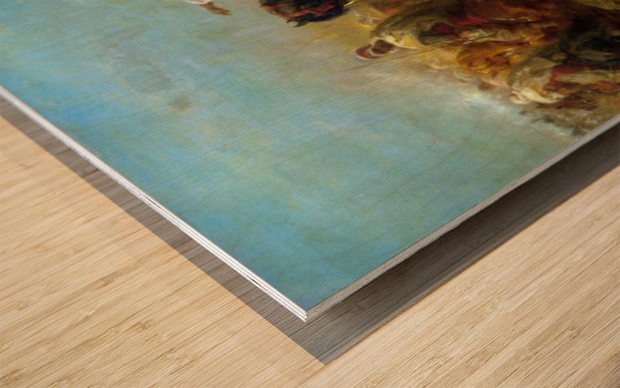 The Skirmish Wood print
