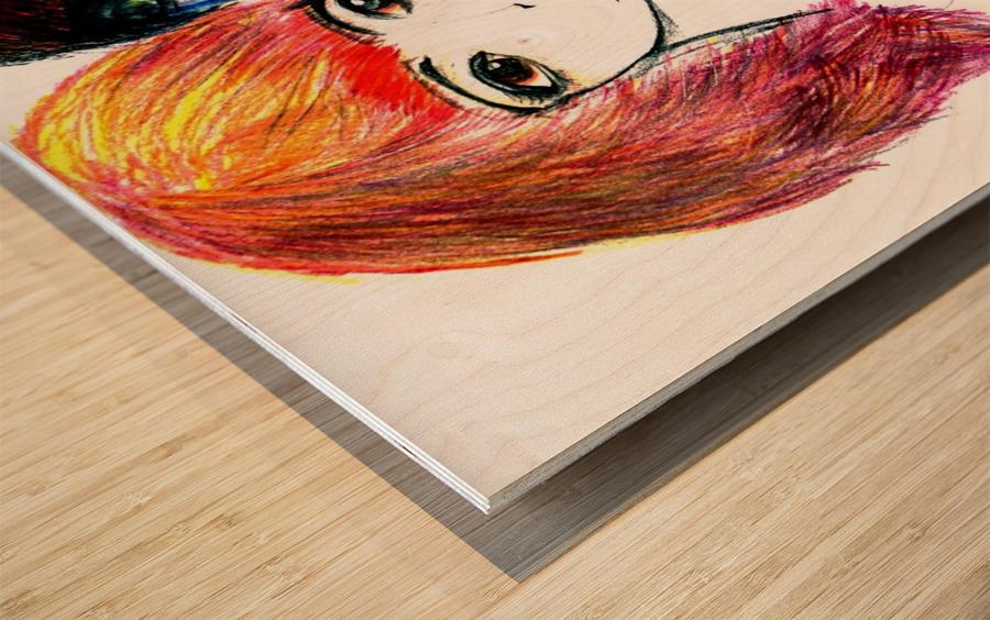 interchangingversionthree Wood print