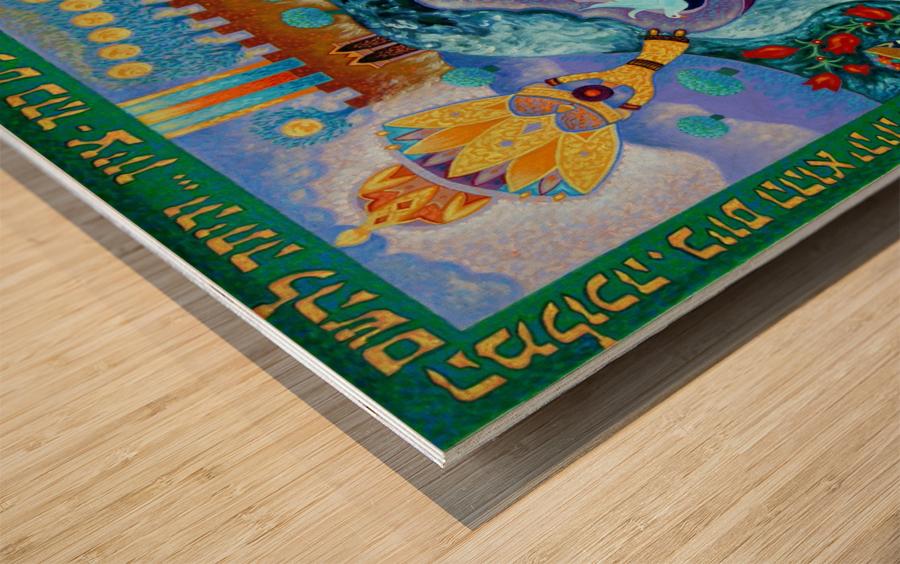 2008 016 Wood print