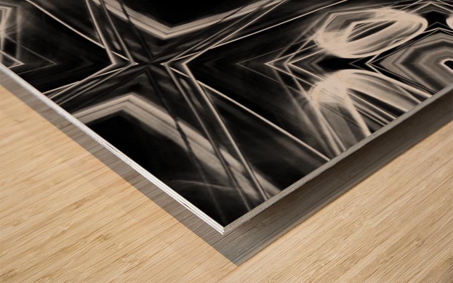 Digital art Wood print