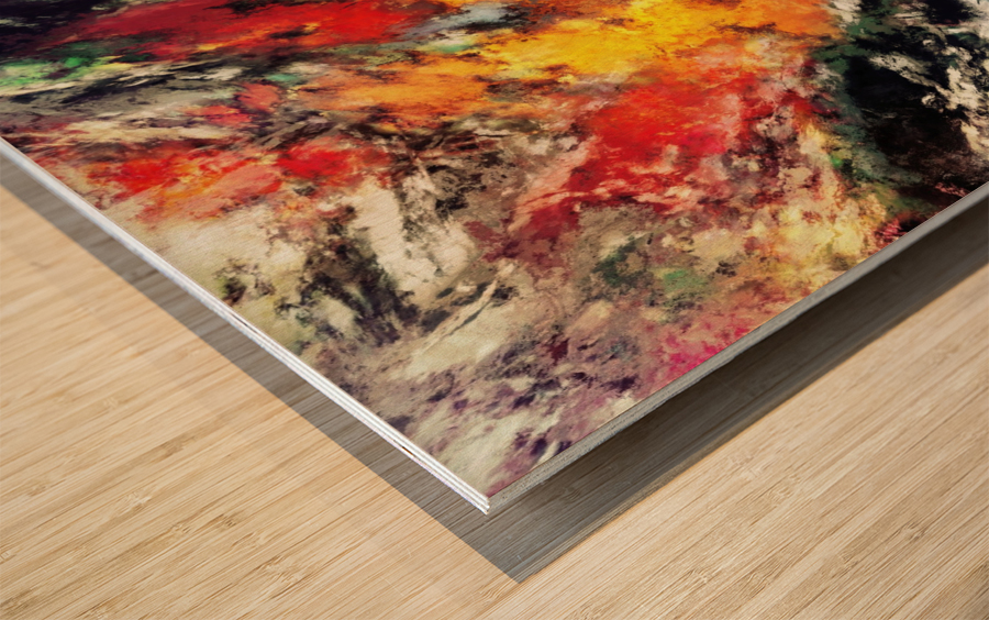 Clattering Wood print