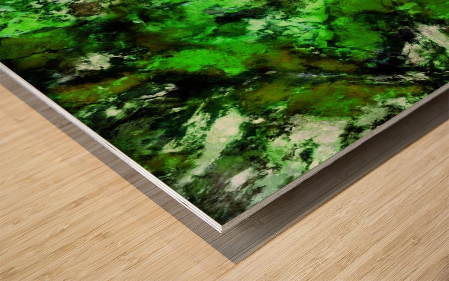 Impulse 2 Wood print