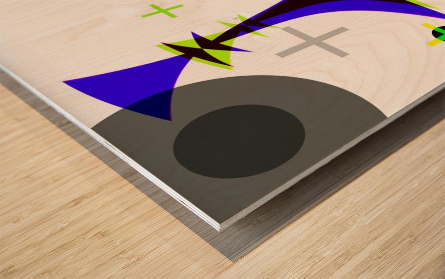MATH 3 Wood print