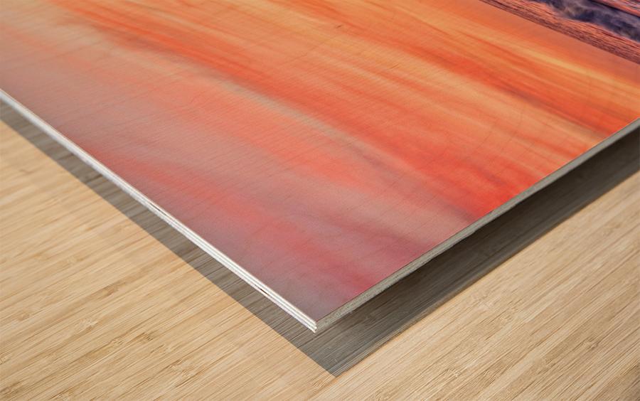 Energized Wood print