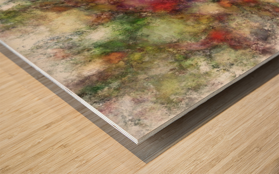 Outcrop Wood print