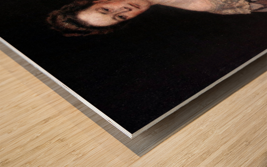 Portrait of A. P. Yurgenson Wood print