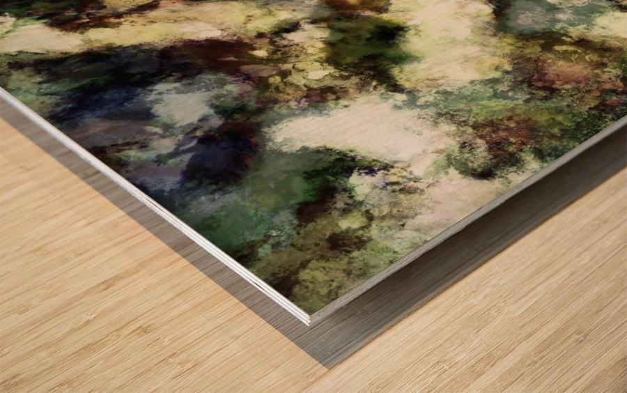 Silent erosion Wood print