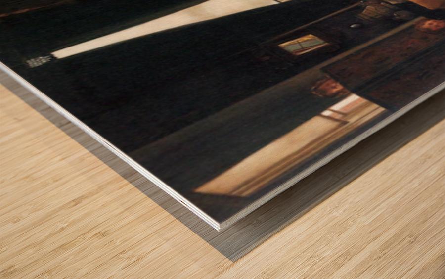Hide-and-seek by Tissot Wood print