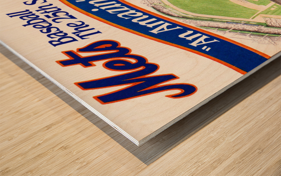 gifts for new york sports fans Wood print