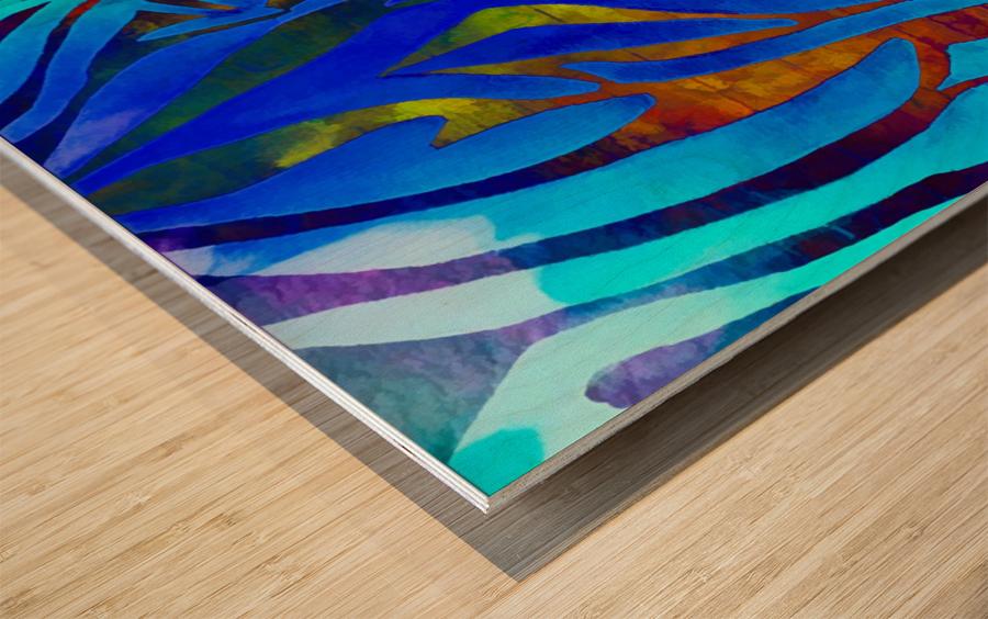 Jungle Fever Wood print