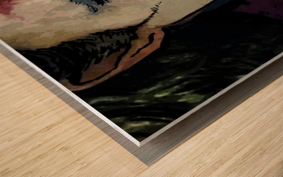 JOKER Joaquin Phoenix Wood print