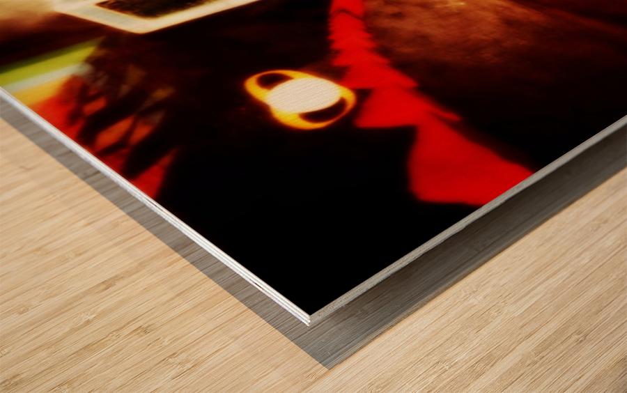 Spacetime Phone Box RLM Impression sur bois