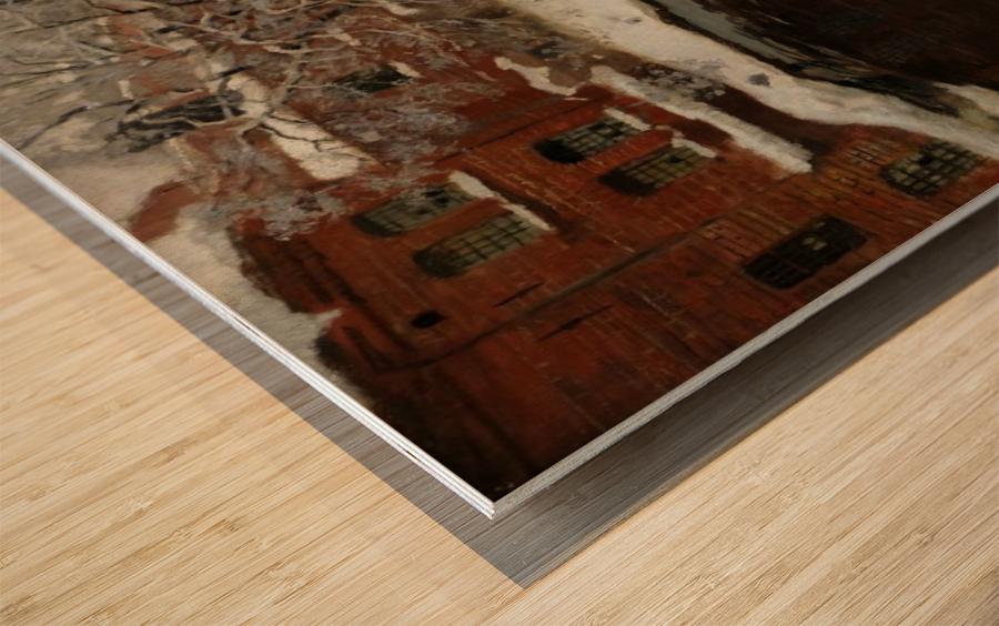 Treschows bro Wood print
