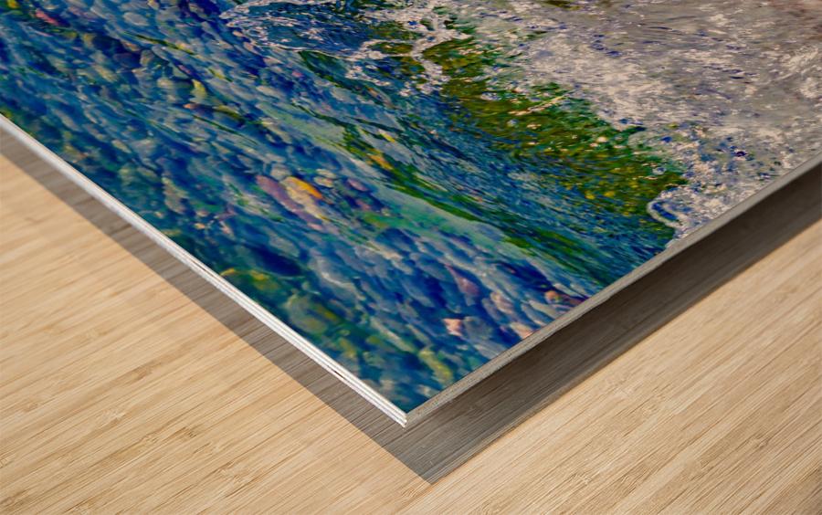 Millennium Splash Wood print