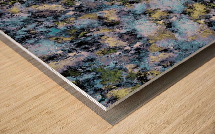 Glance Wood print