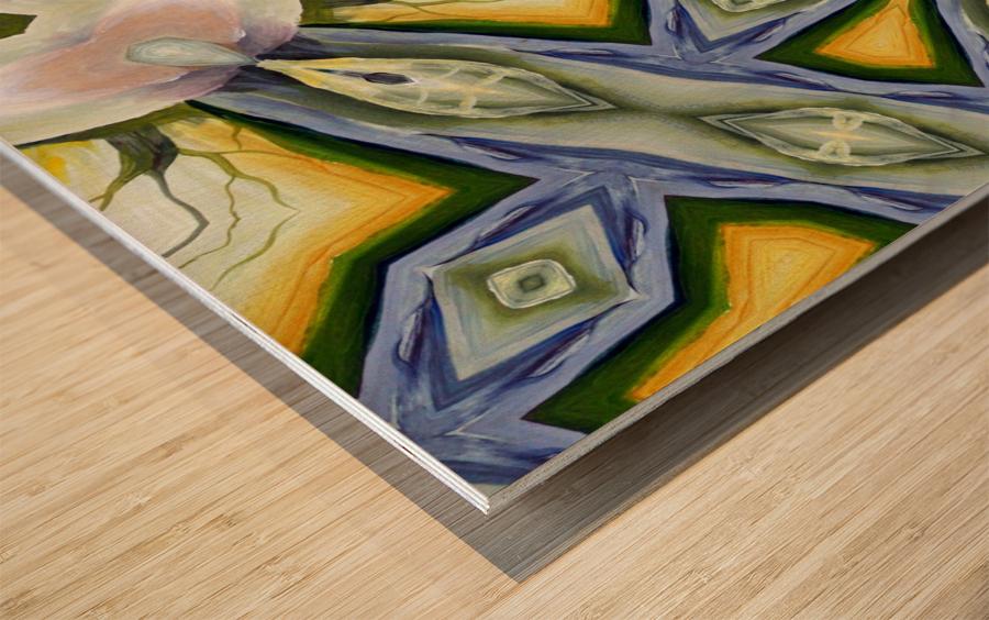 Artdeco structural c Wood print